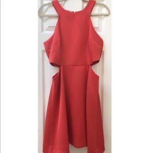 Club Monaco Racerback Knee Length Dress
